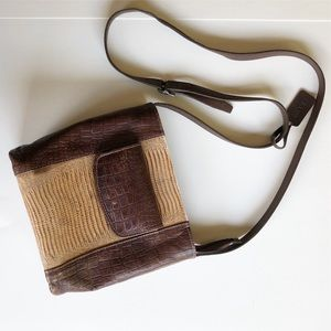 Vintage Leather Purse Handbag